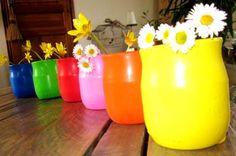 Vases Récup Ballons
