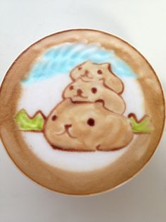 Cute cats Latte Art