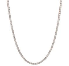 Diamonelle Sterling Silver 14K Rose Gold Plated Tennis Necklace Tennis Necklace, Gold Necklace, Rose Gold Plates, Pretty In Pink, Sterling Silver, Jewelry, Bijoux, Gold Pendant Necklace, Jewlery
