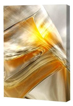 Menaul Fine Art 'Ice and Sun' by Scott J. Menaul Graphic Art on Wrapped Canvas Size: Tracing Art, Artist Canvas, Canvas Paintings, Fall Mantel Decorations, Painting Techniques, Online Art Gallery, Canvas Size, Brown And Grey, Landscape Paintings