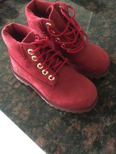 21fd3af0adc9 Timberland Leather Childrens Youth Waterproof Boots Size 9 Red  fashion   clothing  shoes  accessories  kidsclothingshoesaccs  unisexshoes (ebay  link)