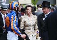 Princess Anne Andrew Parker Bowles Photos - Anne, Princess Royal and Andrew Parker Bowles attend day two of Royal Ascot at Ascot Racecourse on June 2014 in Ascot, England. - Racegoer Fashion at Ascot: Day 2 — Part 2 Ascot England, Princess Anne, Royal Ascot, British Royals, Queen Elizabeth, Ladies Day, Camilla, Captain Hat, June