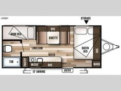 New 2017 Forest River RV Wildwood X Lite FS 196BH Travel Trailer 19ft 3280lbs