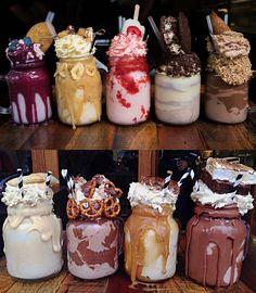 Patissez, Canberra, Australia. W cukierni Patissez (Canberra, Australia) serwują takie mleczne koktajle