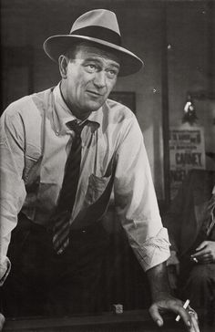 """""""You can take everything a man has as long as you leave him his dignity."""" ― John Wayne"""