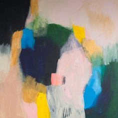 Original abstract giclée Print of painting with от LolaDonoghue