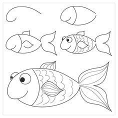 15 Esquemas sencillos paso a paso para aprender a dibujar