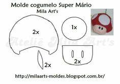 Cogumelo Super Mario Bross