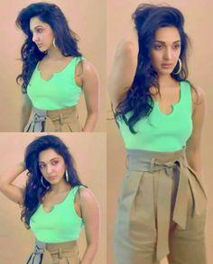 Kaira Advani, Kiara Advani Hot, Indian Bollywood Actress, Alia Bhatt, Portrait Photography, Avengers, Hair Beauty, Actresses, Crop Tops