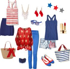 #patriotic #outfits #stars #stripes #USA