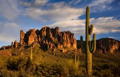 Lost Dutchman State Park near Apache Junction, Arizona.