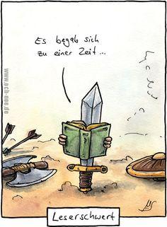 Ein Leserschwert