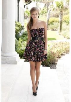 FLORAL SWEETHEART DRESS | Body Central.. LOVE<3