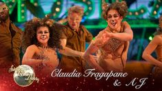 Claudia Fragapane & AJ Salsa to 'I Just Can't Wait To Be King' from The ...