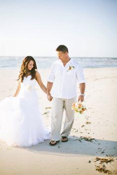 61 Stylish Beach Wedding Groom Attire Ideas | Beach Wedding ...