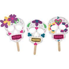 Sugar Skull Mask Kit    OM adorable.  I am obsessed