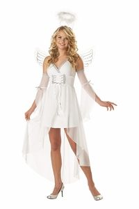 teen angel costume #christmas