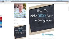 Make $100 fast on Swagbucks