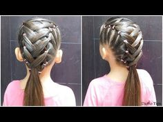 10 cute hairstyles for busy morning! Quick & Easy Hairstyles for School… - Hairstyles Kids School Hairstyles, Cute Hairstyles For Kids, Easy Hairstyles For Medium Hair, Little Girl Hairstyles, Diy Hairstyles, Medium Hair Styles, Short Hair Styles, Newest Hairstyles, Childrens Hairstyles