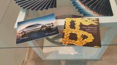 Nearly there!  Heroes & Villains brochures ready to roll  @mercedes.dubai @dollarsandart @riragallery 15.4.15 from. 7pm you art lovers with the after Art  party at @cledubai @eleqt #dollarsandart #celebratelife  #rira #difc #mydubai  #teamwork #partners #cle #history #legends