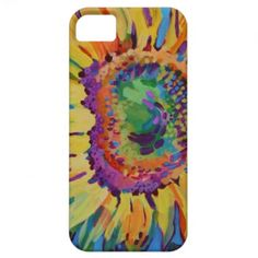 Sunflower iPhone 5 Cases