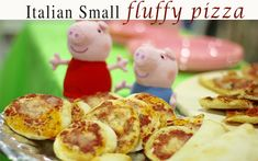 Kids love them!huge taste – My Italian cuisine Small Pizza, Party Buffet, Birthday Parties, Breakfast, Desserts, Recipes, Kids, Food, Anniversary Parties