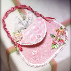 Created with Love Paper Purse Card