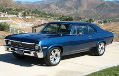1971 Chevrolet Nova 2 Door Hardtop for sale in Frederick, Maryland, , Blue, 383 cu. Chevy Ss, Chevy Nova, Chevrolet Camaro, Old Muscle Cars, Chevy Muscle Cars, Old American Cars, American Muscle Cars, General Motors, Nova Car