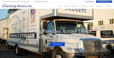 New for moving company in MD. Responsive Web, Design