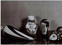 Ceramiche Baldelli  catalogo anni '50 Dante Baldelli, Alberto Burri