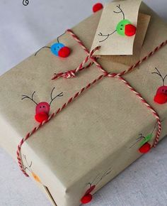 mommo design: GIFT WRAPPING IDEAS