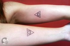 [www.tattoou.co.il :טאטו יו - כל מה שרצית לדעת על קעקועים] --- #triangle #tattoo #קעקוע# משולש