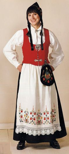 FolkCostume&Embroidery: Search results for norwegian costumes