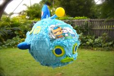 Octonauts, GUP-A piñata I made for my sons 5th Birthday