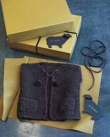 Download our pattern for a child-size knit vest, plus sheep gift tags..