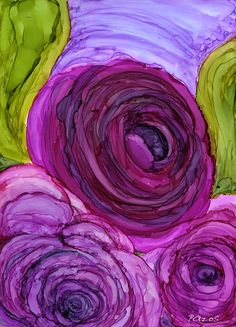 Maria Pazos, Artist The post Maria Pazos, Artist appeared first on Xup Social. Alcohol Ink Crafts, Alcohol Ink Painting, Alcohol Ink Art, Abstract Flowers, Watercolor Flowers, Watercolor Art, Silk Painting, Flower Art, Art Drawings
