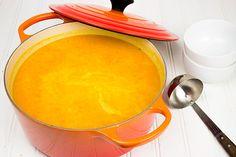 Creamy Carrot and Sweet Potato Soup