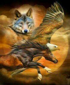 Native American Drawing, Native American Wolf, Native American Pictures, Native American Artwork, American Indian Art, Eagle Images, Eagle Pictures, Wolf Pictures, Mononoke Anime