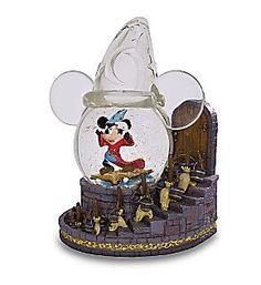 Mickey Sorcerer Snow Globe