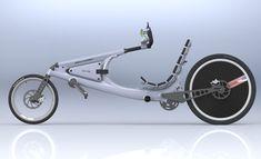 XR2 Solar Powered Recumbent Bicycle
