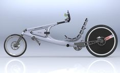 XR2 Solar Powered Recumbent Bicycle