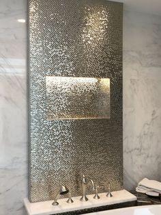 32 perfect shower design ideas your bathroom 00010 Young room Dream Bathrooms, Beautiful Bathrooms, Modern Bathroom, Silver Bathroom, Modern Vanity, Industrial Bathroom, Parade Of Homes, Bathroom Toilets, Bathroom Interior Design