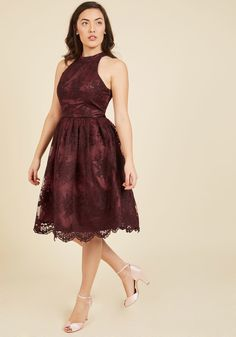 Distinguished Decadence Lace Dress   ModCloth