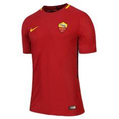 Camiseta AS Roma 1ª Equipación 2017/2018 Sports Uniforms, As Roma, Polo Shirt, Polo Ralph Lauren, Mens Tops, Shirts, Fashion, Suits, School