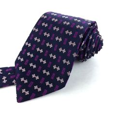 THOMAS PINK England 58 Classic Navy Blue Pink Purple Geometric Silk Neck Tie #ThomasPink | Men's Fashion & Style | Shop Menswear, Men's Clothes, Men's Apparel & Accessories at designerclothingfans.com | Find Sport Coats, Blazers, Suits, Shirts, Polos, Pants/Trousers and More...