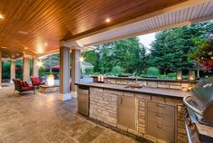 Get inspired by these exterior natural stone creations. Adera Natural Stone Supply is one of Canada's largest natural stone suppleirs. Natural Stones, Concrete, Pergola, Exterior, Outdoor Structures, Windows, Patio, Outdoor Decor, Nature