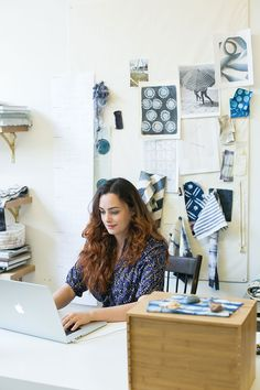 """Surface Pattern Designer and Creative Director Rebecca Atwood 