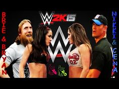 WWE John Cena vs Nikki Bella Full Match monday night Main Event 2017 HD