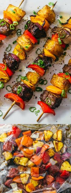These Crazy Good Hawaiian Steak Kabobs from Savory Tooth are always a hit for summer parties or weekend meals. Succulent steak bites are paired with crisp and juicy veggies and smoky pineapple!