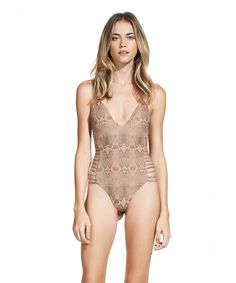 Sofia Skin Dive Slim One Piece | Vix Paula Hermanny
